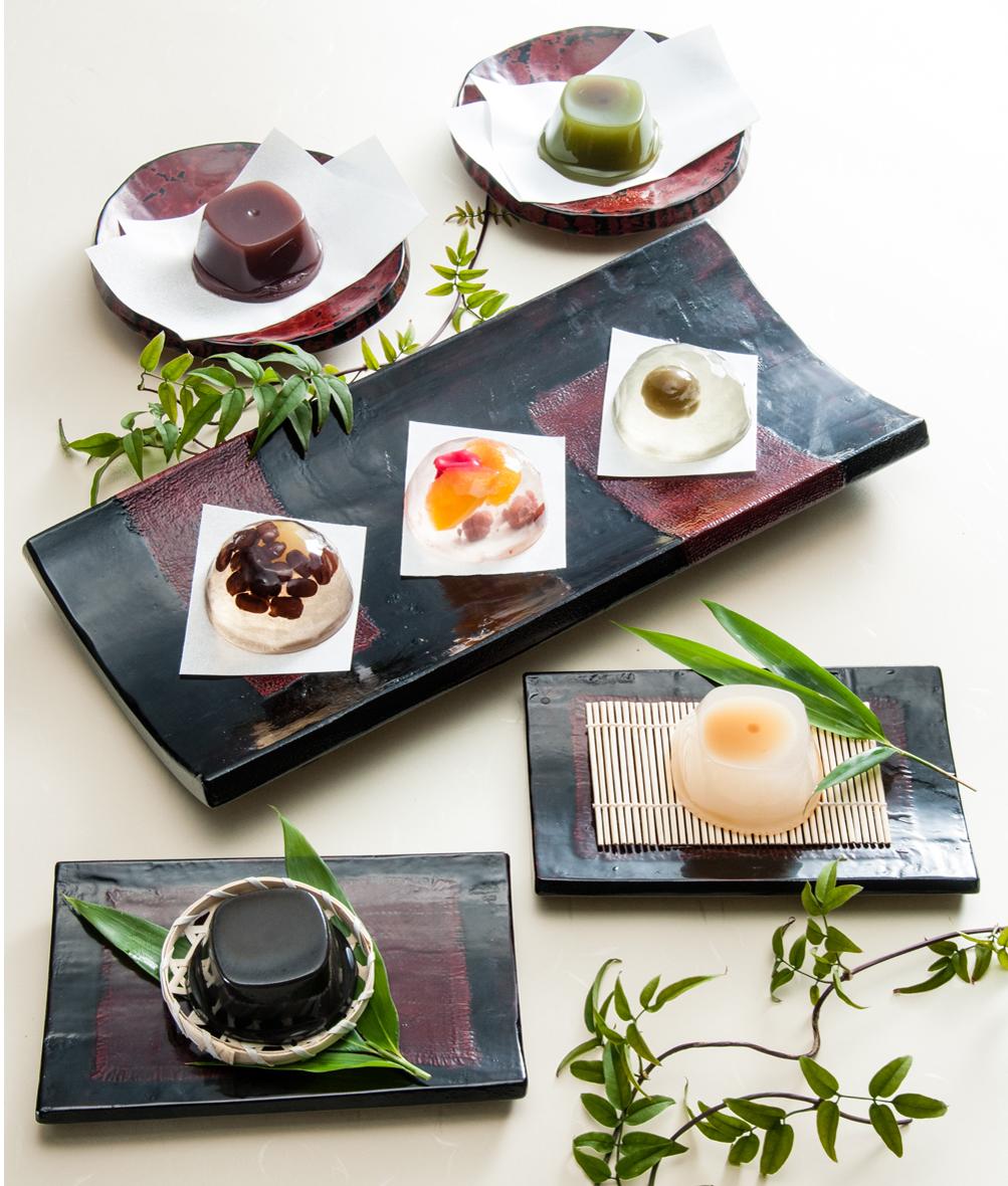創味菓庵「季の雫」盛りつけイメージ